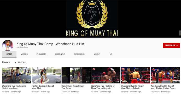 King Of Muay Thai You Tube Channel